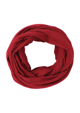 Lightweight fine knit snood from s.Oliver