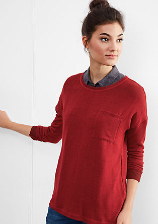 Lightweight fine knit viscose jumper from s.Oliver
