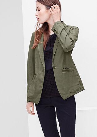 Lightweight garment-dyed blazer from s.Oliver