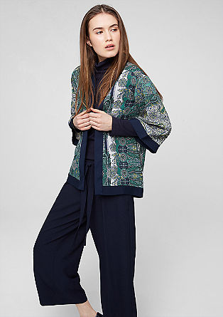 Lightweight jacket in an oriental style from s.Oliver