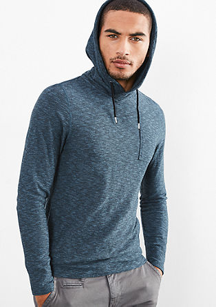 Lightweight knit hoodie from s.Oliver