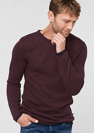 Lightweight knit jumper with alpaca from s.Oliver