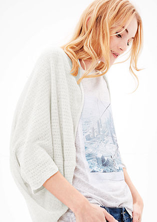 Lightweight knit poncho from s.Oliver