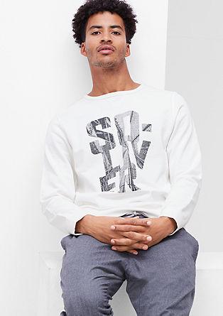 Lightweight logo sweatshirt from s.Oliver