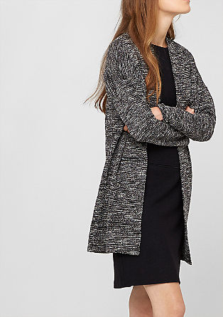 Lightweight long sweatshirt jacket from s.Oliver