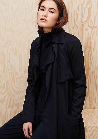 Lightweight lyocell coat from s.Oliver