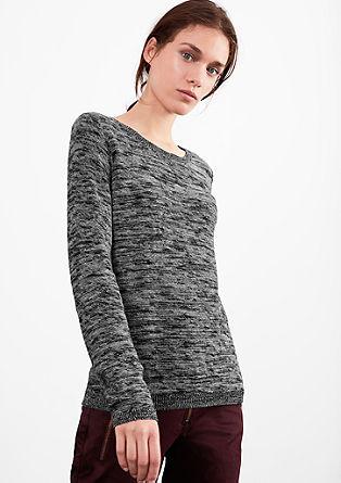 Lightweight melange knit jumper from s.Oliver