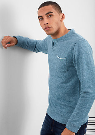 Lightweight melange sweatshirt from s.Oliver
