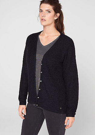 Lightweight mohair cardigan from s.Oliver