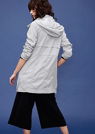 Lightweight nylon parka with a hood from s.Oliver