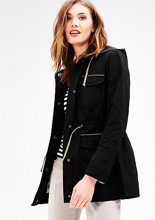 Lightweight parka with contrasts from s.Oliver