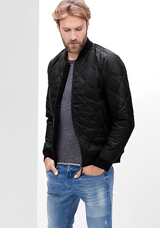 Lightweight quilted Thermore bomber jacket from s.Oliver