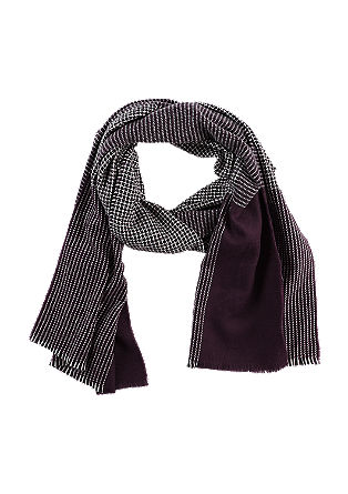 Lightweight scarf in a retro design from s.Oliver