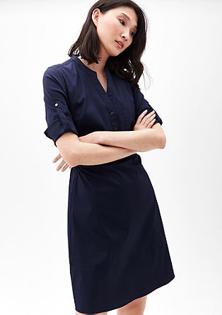 Lightweight shirt blouse dress from s.Oliver
