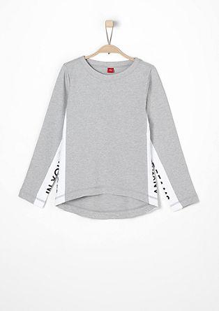 Lightweight statement sweatshirt from s.Oliver