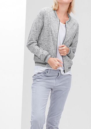 Lightweight sweatshirt jacket from s.Oliver