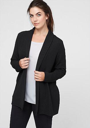 Lightweight textured blazer from s.Oliver