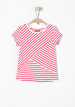 Lightweight top in a striped design from s.Oliver