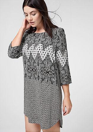 Lightweight viscose dress from s.Oliver