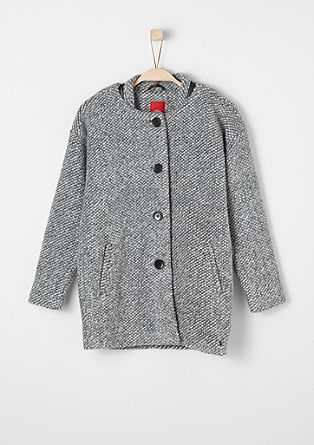 Lightweight wool blend coat from s.Oliver