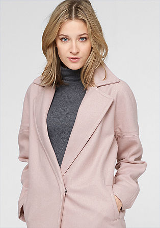 Lightweight wool coat from s.Oliver