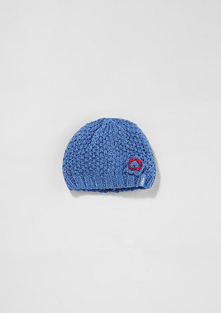 Lined chunky knit hat from s.Oliver