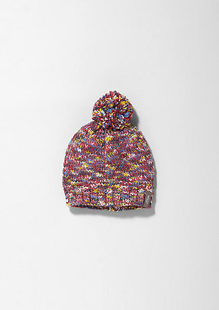 Lined knitted hat from s.Oliver