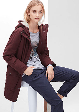 Lined parka from s.Oliver