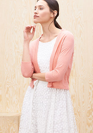 Linen blend cardigan from s.Oliver