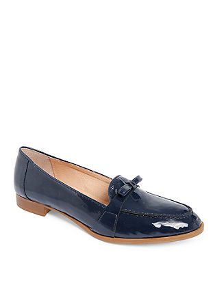 Loafer Lackleder