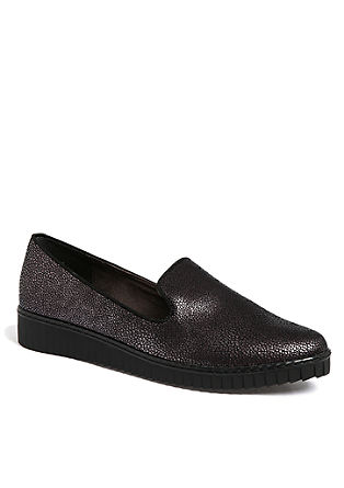 Loafers met kleine plateauzool