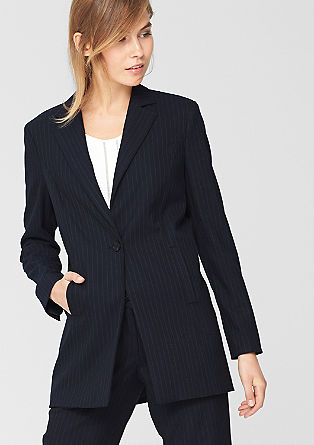 Long blazer in the style of a tailored jacket from s.Oliver
