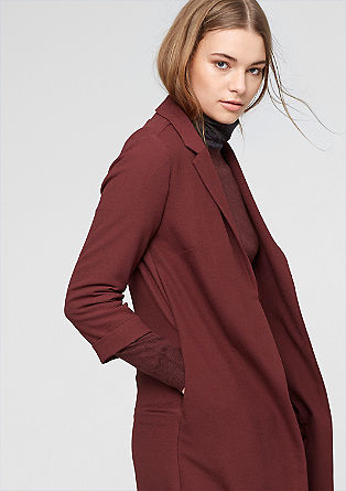 Long blazer with 3/4-length sleeves from s.Oliver