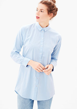 Long blouse with a percentage of stretch from s.Oliver