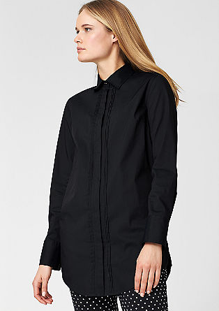 Long blouse with pin-tucks from s.Oliver