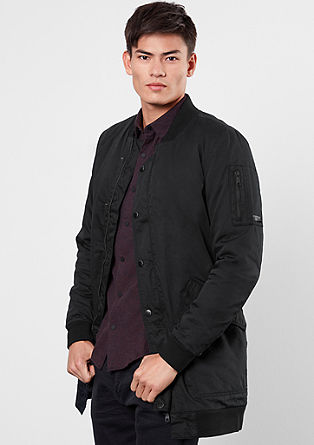 Long bomber jacket from s.Oliver