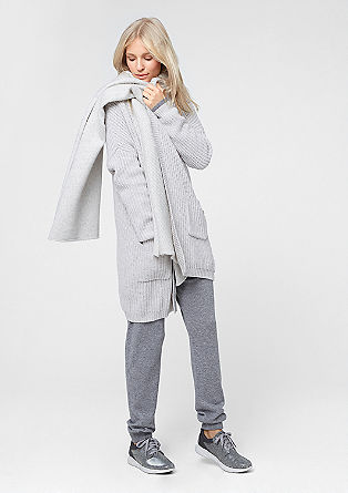 Long cardigan with cashmere from s.Oliver