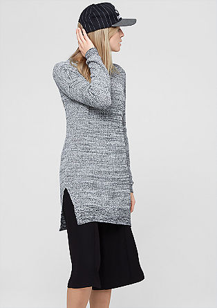Long jumper in a marled knit from s.Oliver