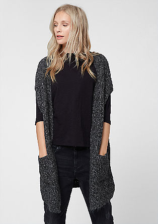 Long knit cardigan from s.Oliver