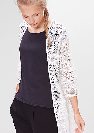 Long lace cardigan from s.Oliver
