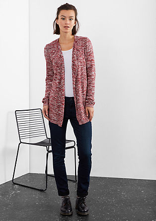 Long melange cardigan from s.Oliver