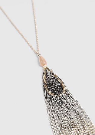 Long necklace with a decorative tassel from s.Oliver