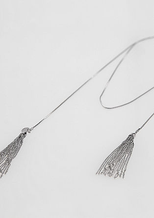 Long necklace with tassels from s.Oliver