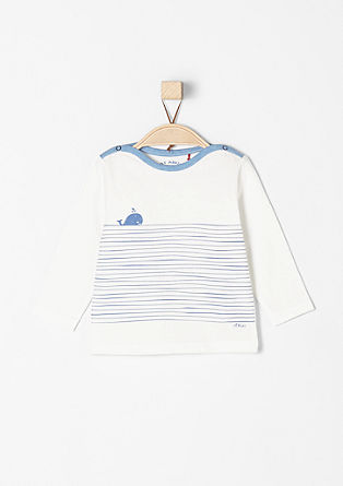 Long sleeve top in a nautical design from s.Oliver