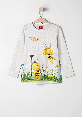 Long sleeve top with 'Maya the Bee' print from s.Oliver