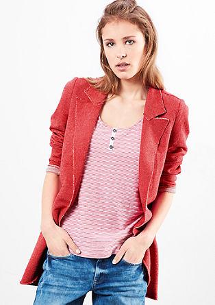 Long sweatshirt blazer from s.Oliver
