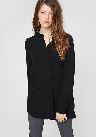 Long viscose blouse from s.Oliver