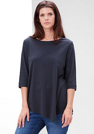 Longshirt im Asymmetrie-Look