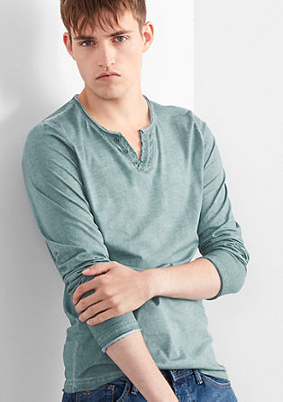 Longsleeve im Garment Dye