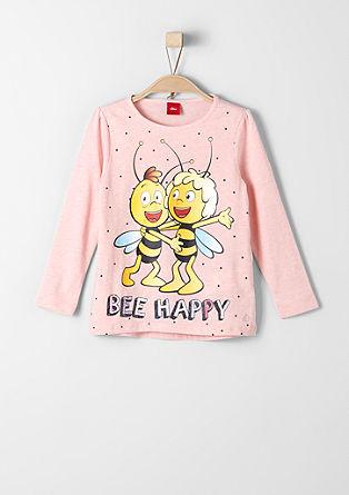 Longsleeve mit 'Biene Maja'-Motiv